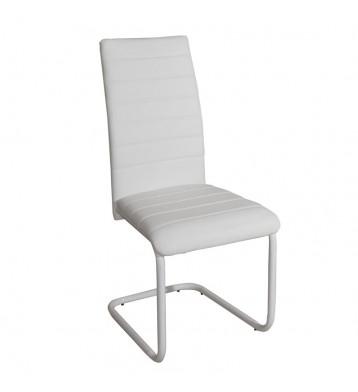 Pack 2 sillas comedor blancas Merak