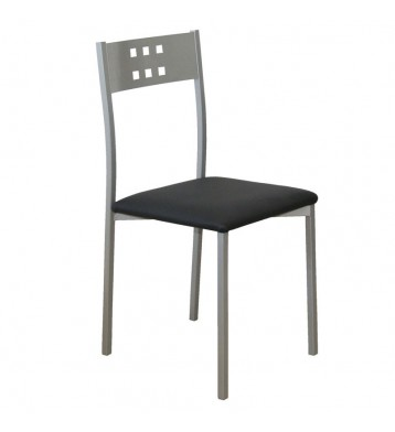 Pack 2 sillas Costa cocina color negro