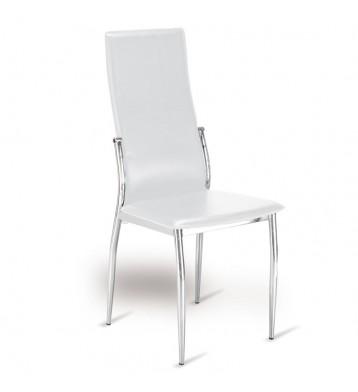 Pack 4 sillas blancas Varna salón