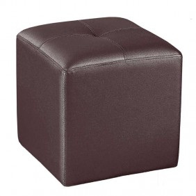 Pouf 35x35 chocolate