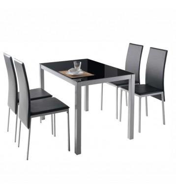 Pack mesa cristal + 4...