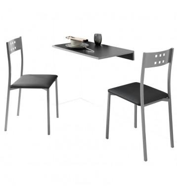 Conjunto mesa pared + 2...
