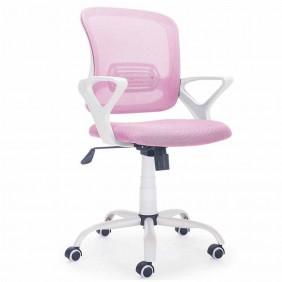 Silla oficina y escritorio rosa