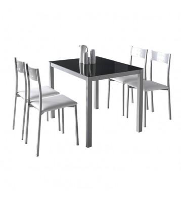 Conjunto mesa + 4 sillas...