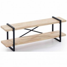 Mesa Tv Plank roble nordish salvaje industrial 150x36x46