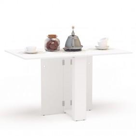 Mesa cocina Swing abatible color blanca 18-135x80 cm