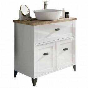 Mueble baño Siena cottage con lavabo 82x47x95