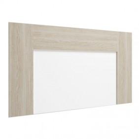 Cabecero Luce color sable y blanco 90x163x3 cm
