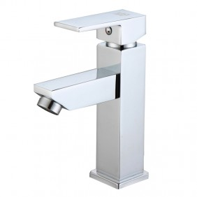 Grifo Amazonas para lavabo o lavamanos monomando cromo
