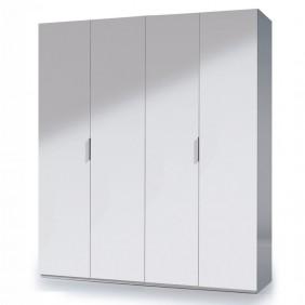 Armario blanco de 4 puertas habitación dormitorio 180x200