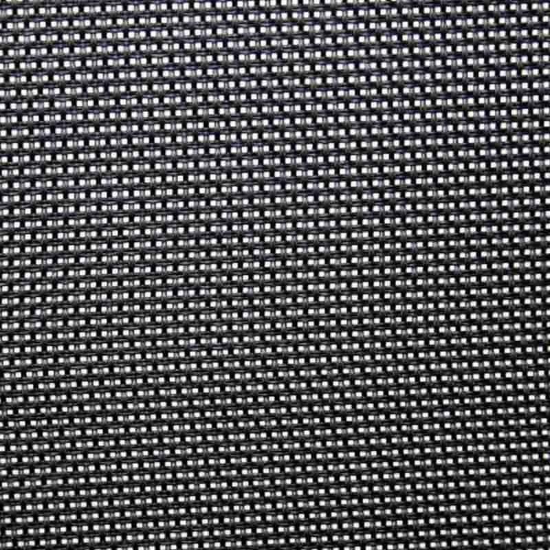Silla de oficina Hook baja en negro 60x91