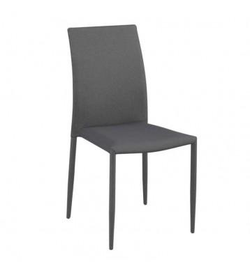 Pack 2 sillas Kursa tela gris