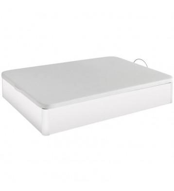 Canapé base tapizada 135x190 blanco