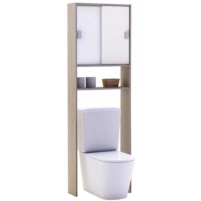 Armario auxiliar baño o lavadora 2 puertas correderas