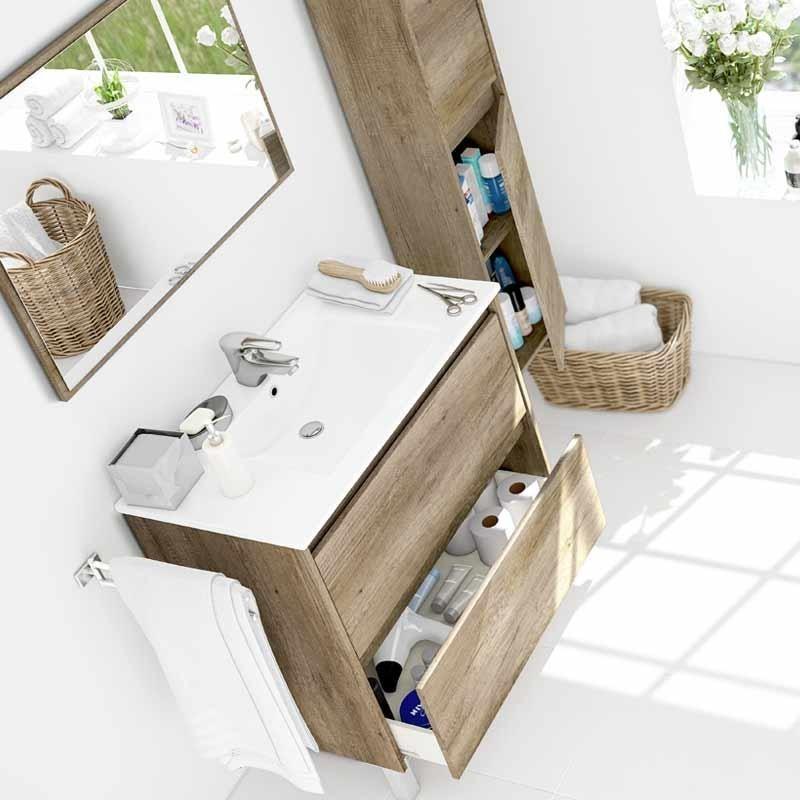 Pack Lavamanos (con lavabo) + Columna Nordik