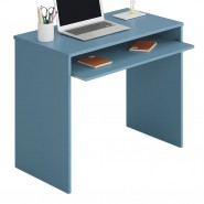 Escritorio juvenil color azul i-Joy 90x54x79 cm