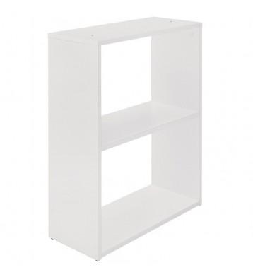Estantería o Pata diseño minimalista color blanco 24x60x74 cm