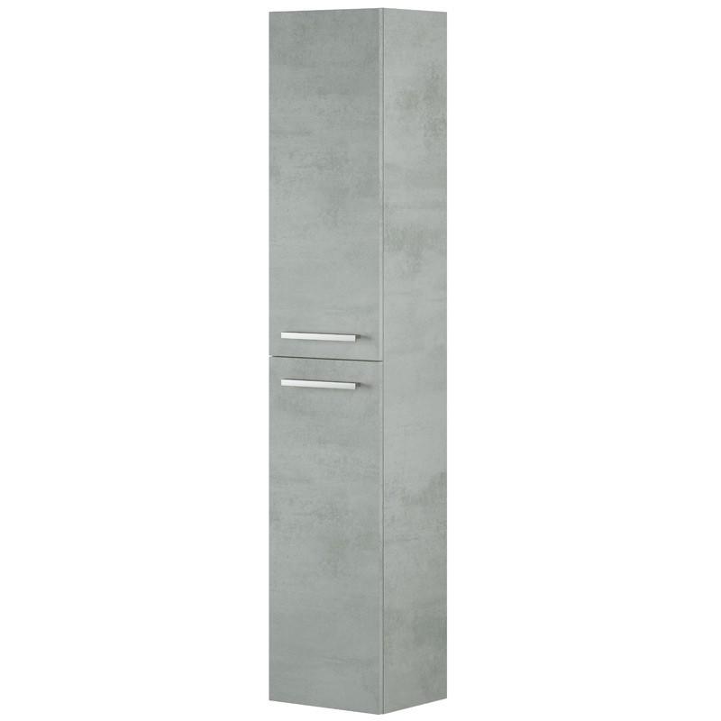 Pack muebles Cemento mueble baño espejo columna y lavabo cerámica