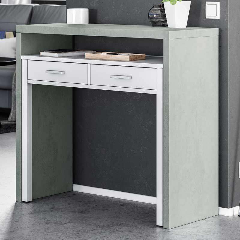 Pack mobiliario salón Cemento II estilo moderno