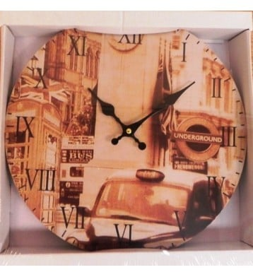 Reloj de pared Mod. United Kingdom