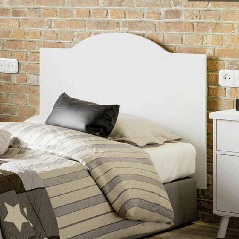 Cabezal dormitorio Vale vintage blanco 100 cm