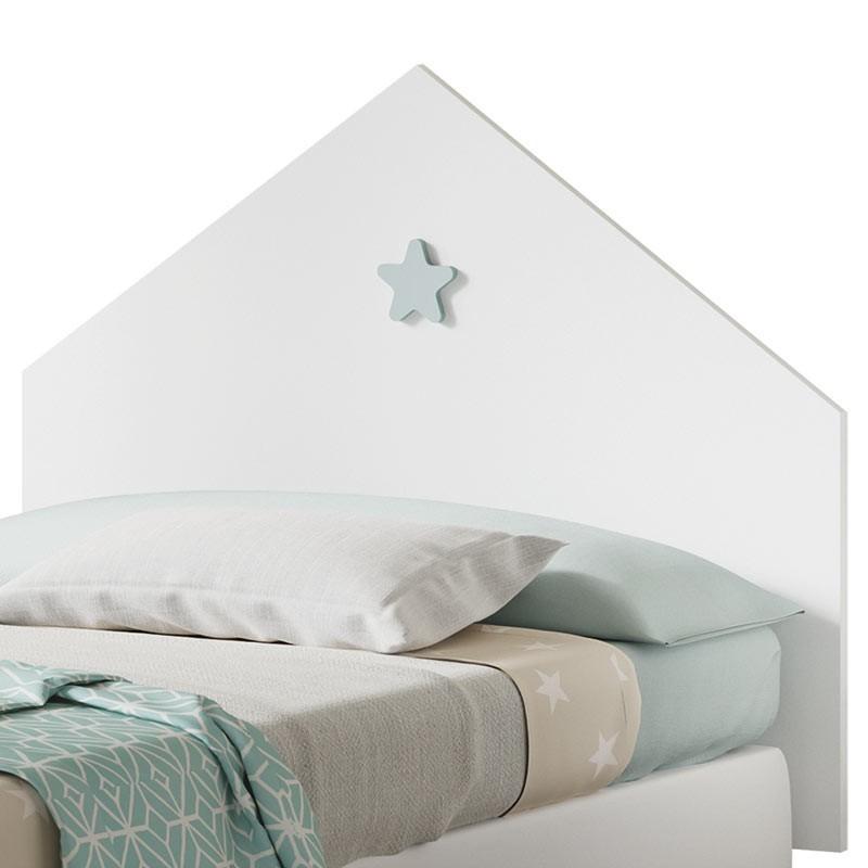 Cabezal infantil dormitorio Star 100 cm