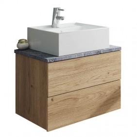 Mueble baño moderno Marble con lavabo cerámica 60x45
