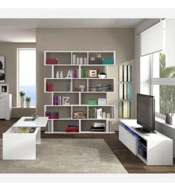 Pack salón Santorini mesa TV+estantería+mesa centro