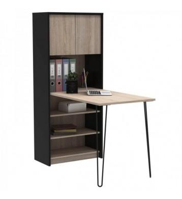 Mesa con estantería escritorio Lex 120x93