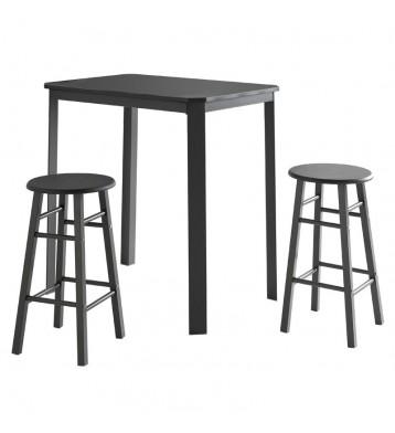 Mesa con 2 taburetes cocina...