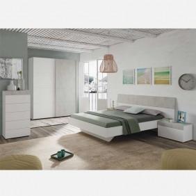 Pack muebles dormitorio Cemento modernos 150 o 135 cm