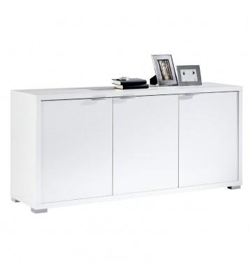 Armario aparador color blanco 3 puertas 150 cm
