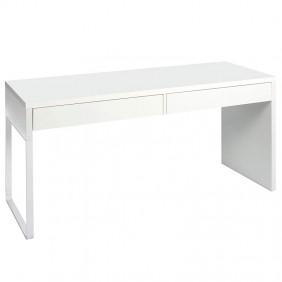 Mesa de escritorio ordenador estudio con 2 cajones 138 cm