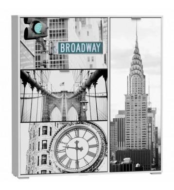 Zapatero Broadway 120x129 armario