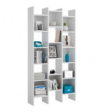 Estantería o librería color blanco artic 192x96x29 cm