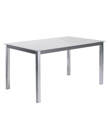 Mesa comedor Kobe blanca.