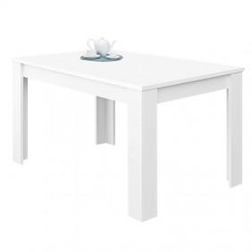 Mesa Comedor Extensible Blanco Mate 140-190x90