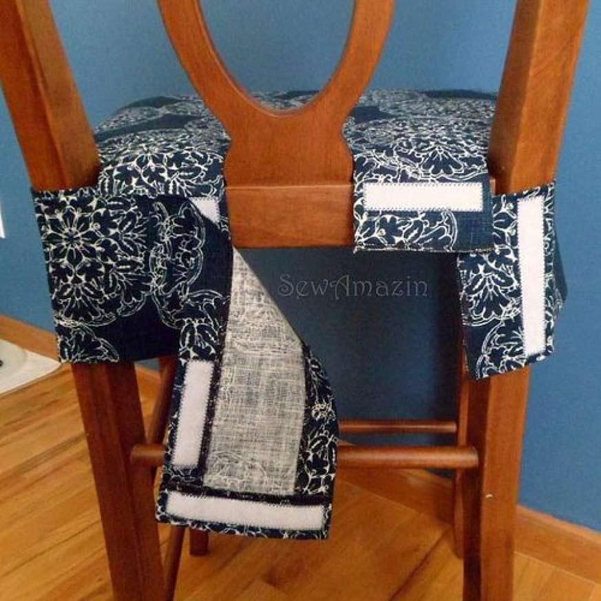 Paso a paso para hacer fundas para sillas fácil y eficaz
